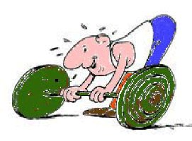 weight lifter image