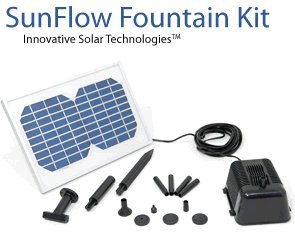 Small Solar powered pumps